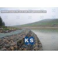 China Galvanized Wire Stone Gabion Basket For River Crossing / Marinas / Seashore Protection wholesale