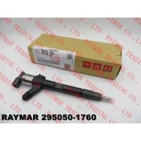 China DENSO Genuine common rail fuel injector 295050-1760 for MITSUBISHI 4N15 1465A439 wholesale