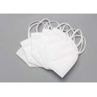 China Disposable Nonwoven 5 Layer KN95 Foldable Dust Mask wholesale