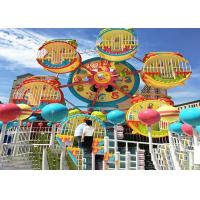 China 6 Cabins Rotating Amusement Park Ferris Wheel With Galvanized Steel Material wholesale