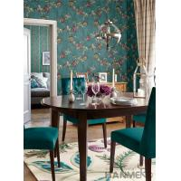 Buy cheap Strippable Room Decorating Wallpaper Floral Design PVC Wallcovering Professional Supplier from wholesalers
