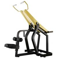 China Professional Yellow Hammer Strength Plate Loaded Gym Equipment / Pull Down Machine 152kg wholesale