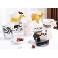 China 450ml Ceramic Reusable Coffee Cup wholesale
