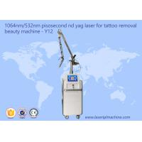 China Picosecond Laser Tattoo Removal Device Pico Laser Machine Skin Rejuvenation wholesale