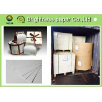 China 190g ~ 400g Ivory Board Paper With 2 Side White Laminated Cardboard wholesale