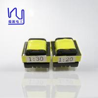 China Magnet Electronic Ferrite Core Transformer High Frequency In Yellow Color on sale