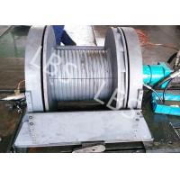 China Light Weight Hydraulic Mooring Winch Compact Structure Small Volume wholesale