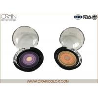 Multi - Colored Powder Professional Eyeshadow Palette With Beautiful Round Pattern