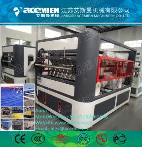 Quality PVC glazed/corrugated/wave plastic roofing tile production line for sale