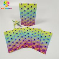 China Custom 1oz 3.5g Foil Pouch Packaging Smell Proof Weed Packaging Bags Glossy Surface wholesale