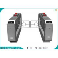 China IR Detector Retractable Retractable Security Gates High Security Turnstile on sale