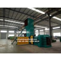Quality FDY-1250 Semi-automatic Hydraulic horizontal baling press manufacturer for sale