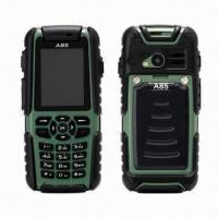 China IP67 Waterproof GSM Quad Band Mobile Phones with Adjustable Frequency Walkie Talkie and GPS wholesale