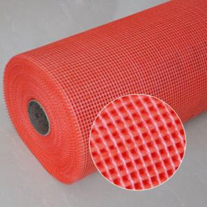 China Different colors alkali - resistant fiberglass net used for construction material wholesale