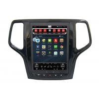 China In Dash Gps Dvd Car Stereo Android 6.0 , Jeep Grand Cherokee Gps Navigation System For Car on sale