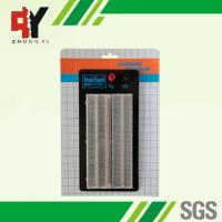China Clear ABS Plastic Solderless Breadboard with 2 Binding Posts wholesale