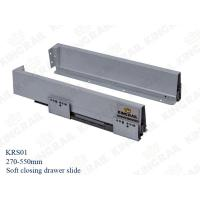 China NEW Double Wall Soft Close 450mm Drawer Slide Runner Channel KRS01 wholesale