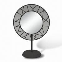 China Cosmetic Mirror with Base and Ø147mm Mirror, Measures 245 x 135 x 353mm wholesale