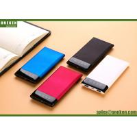 Buy cheap Mobile Power Supply OEM Power Bank 6000mAh Super Slim Mi Mobile Phone Power from wholesalers