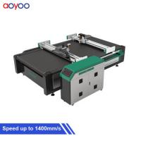China AOYOO 1625 model pu foam cutter for carbon fibre prepreg and sheet rubber wholesale