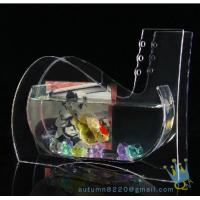 China Wedding decoration small acrylic fish tank wholesale