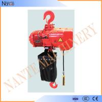 China 4 Ton / 8 Ton Electric Chain Hoist / Hoist Lifting Machine With Electric Trolley wholesale