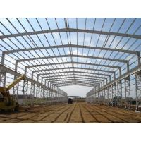 China Light painted Q345B steel structure workshop for South Africa on sale