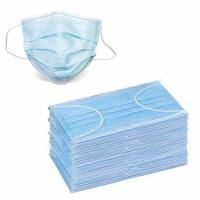 China Eco Friendly 3 Ply Earloop Face Mask For Food Service / Personal Health wholesale