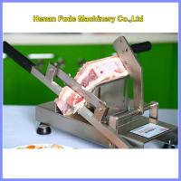 China small frozen meat slicer, Household manual meat slicer wholesale