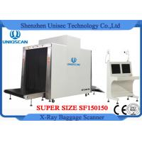 China Customized Airport Luggage Scanner / Baggage X Ray Scanner Large Tunnel Size 150x150mm on sale