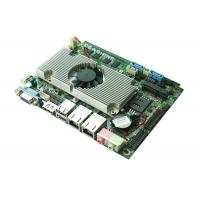 "China 6 COM 8 USB , Dual LAN , 3.5"" Embedded Motherboard Dual Core Atom D2550 CPU wholesale"