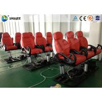 Quality Business Center 5D Cinema Equipment With Safety Chair / Push Back Function for sale