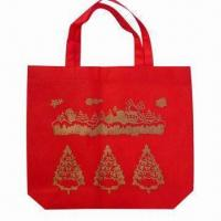 China Promotional Bag, Made of Nonwoven Material, Customized Printing are Welcome wholesale