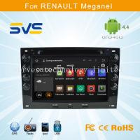 China Android car dvd player GPS navigation for Renault Megane 2003-2010 quad core car audio wholesale