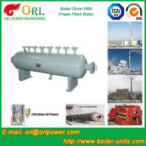 China High Pressure Vacuum Boiler Mud Drum For Heating Industry SGS Standard wholesale
