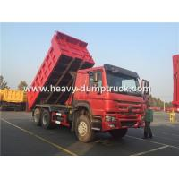 China Sinotruk Howo 371 Hp Tipper Heavy Load Truck For Bad Road Condition And Overloading wholesale