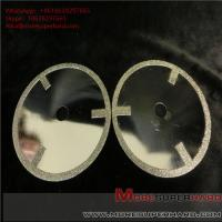 Buy cheap Electroplated Diamond Cutting Blades & Discs Alisa@moresuperhard.com from wholesalers
