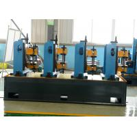 Steel Welded Pipe Making Machine Friction Saw Cutting 50m/Min Line Speed