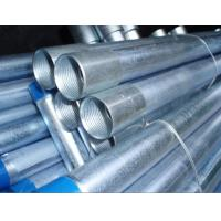 China End Inside Threaded Galvanized Steel Pipe , Galvanized Steel Water Pipe wholesale