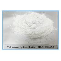 China Tetracaine HCL 136-47-0 Local Anesthetic Raw Powder Pain Killer Quick Effect wholesale