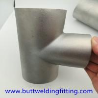 Buy cheap Stainless Steel Tee ASTM A234 GR WPB , ST37.2 , ST35.8Din 1.4301 , 1.4306 , 1 from wholesalers