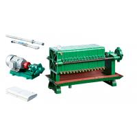 China Decolorization Oil Filter Press Machine With Motor Electronic Control System wholesale