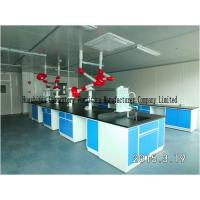 Cleanroom Modular Lab Benches 12.7mm Alkali Resist Countertops Cold Rolled Steel Frames