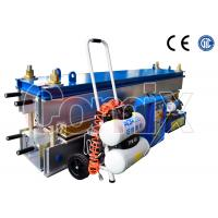 China Aluminum Alloy Conveyor Belt Vulcanizing Equipment With Upper and Lower Frame wholesale