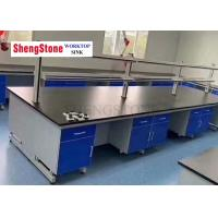 China Epoxy Resin Island Countertop In The Research Room Of Wholesale Durability College on sale