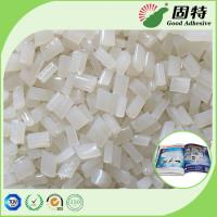 China EVA White Transparent Hot Melt Book Binder Glue Adhesive Pellets For Double Film Coated Paper,Film Laminated Cover wholesale