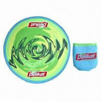 China Promotional Foldable Frisbee, Cowboy/Bucket Hat or Baseball Cap are Also Available wholesale