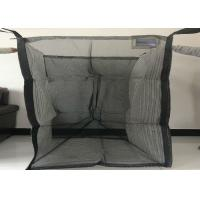 Buy cheap Full Open Top Ventilated Big Bag With Flat Bottom Custom Size / Color from wholesalers