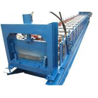 China 1.2mm Thickness Anode plate Cold Roll Forming Machine PLC control with Punching System wholesale