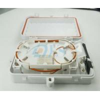 China Wall Mounted 6 Fiber SC Fiber Optic Patch Box , Easy installation on sale